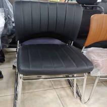나비의자 검은색, 갈색 (회의실용, 응접실용)