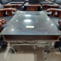 쇼파 테이블 (유리 엔틱)