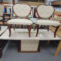 [PT99990133] 대리석식탁 +의자4개